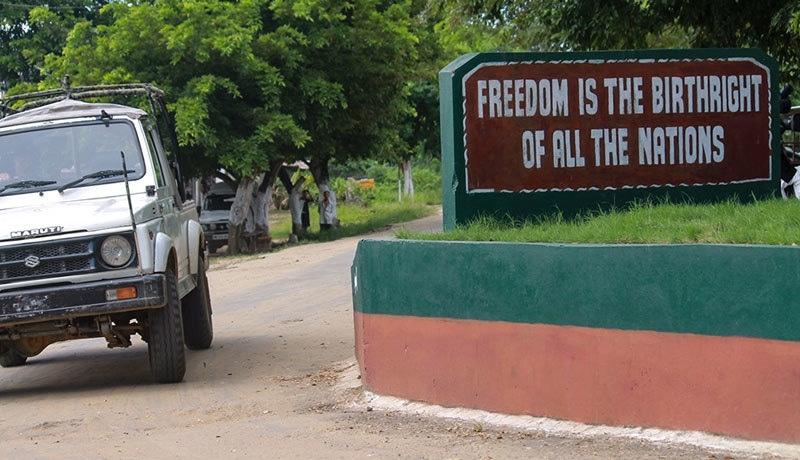 ناگالینڈ کے علیحدگی پسند ناگالیم کے نام سے خود مختار ریاست تشکیل دینا چاہتے ہیں—فوٹو:بشکریہ الجزیرہ