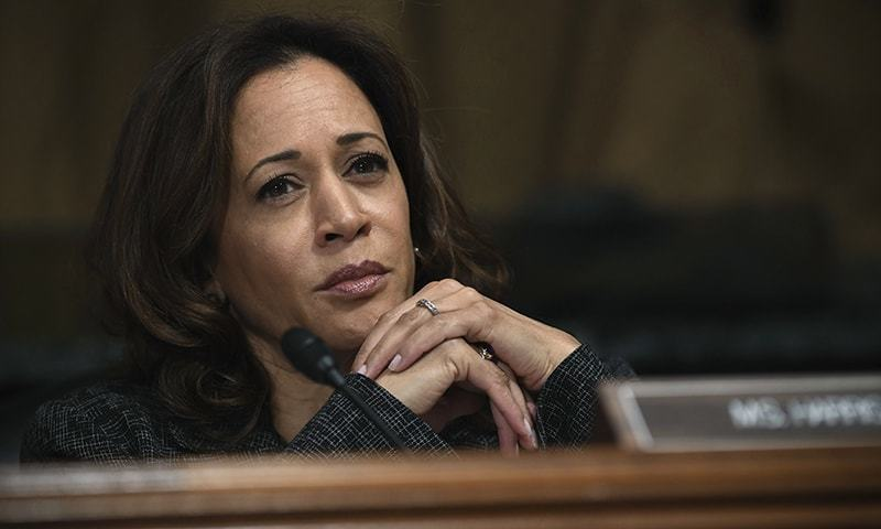 """We have to remind the Kashmiris that they are not alone in the world,"" says Kamala Harris, a major Democratic candidate for the 2020 US presidential election. — AP/File"
