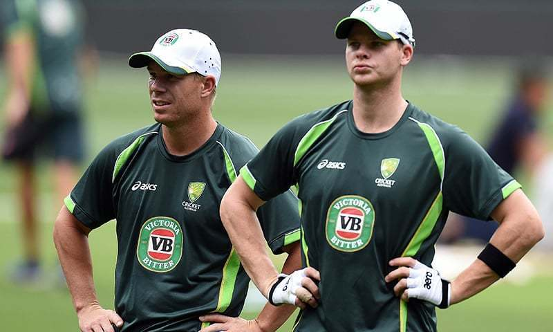 The star batsmen were both banned for a year for their roles in a ball-tampering scandal. — AFP/File