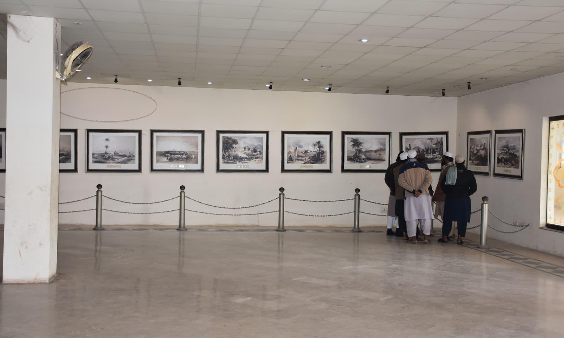 زمزمہ کا ایک منظر