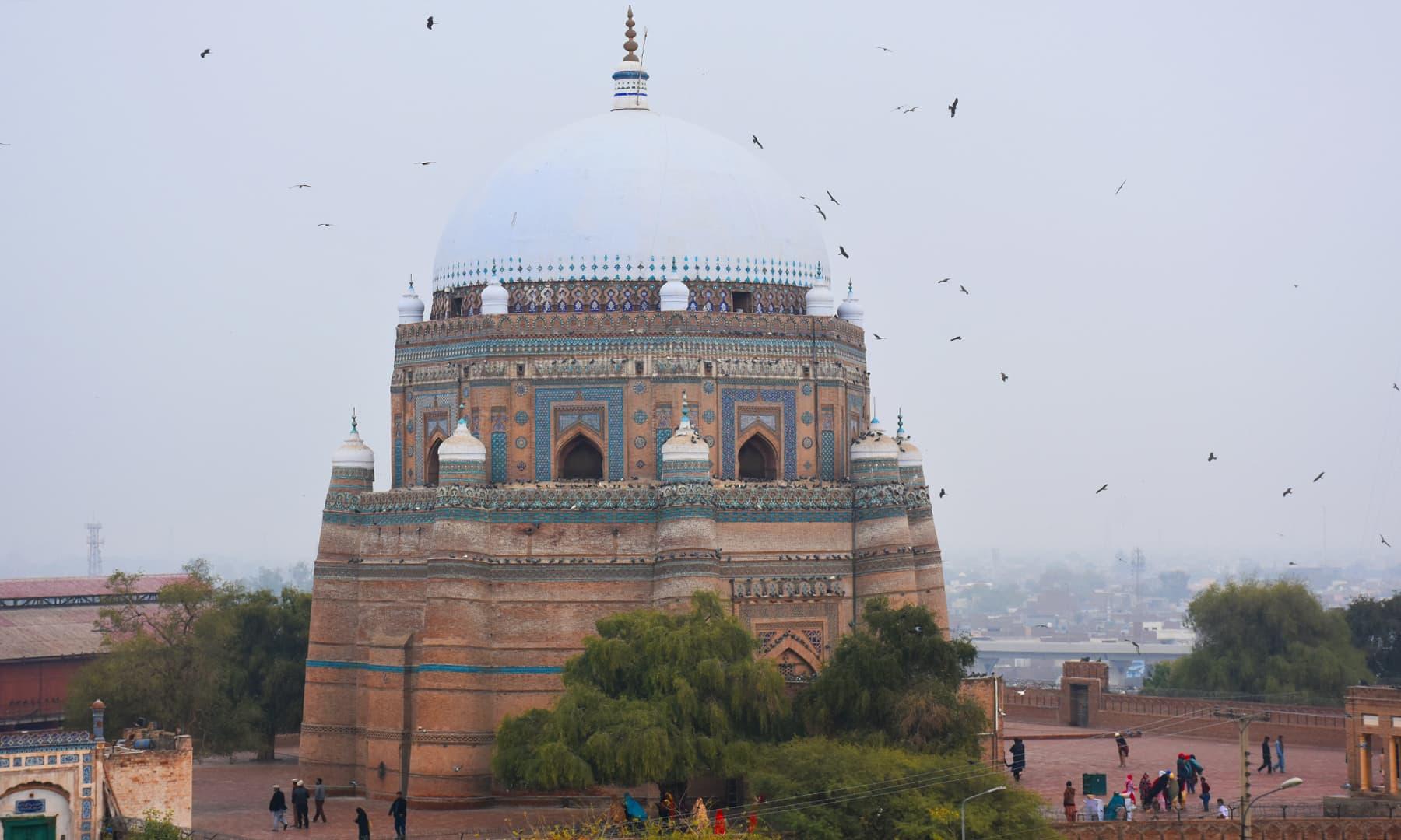 شاہ رکن عالم کا مزار
