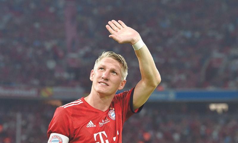BASTIAN Schweinsteiger.—AFP