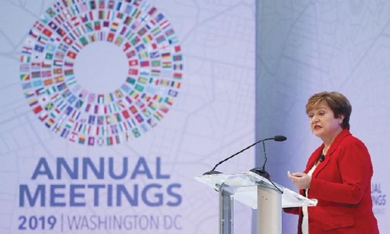 World suffering synchronised slowdown: IMF chief