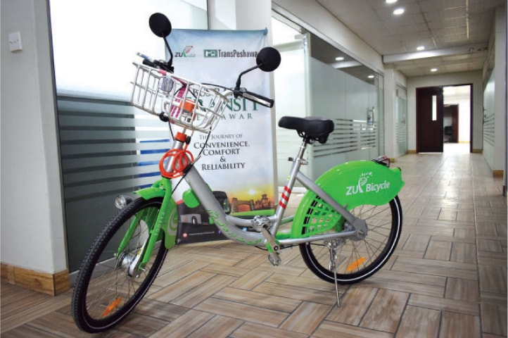 Bike-sharing system unveiled for BRT