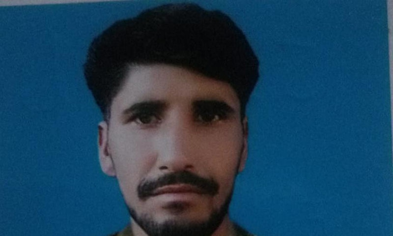 A Pakistan Army soldier Sepoy Naimat Wali was martyred and two civilians were injured as the Indian army resorted to ceasefire violations along the restive Line of Control (LoC), the Army's media wing said on Thursday. — Photo courtesy ISPR