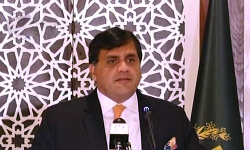 ڈاکٹر محمد فیصل کے مطابق ہم پوری دنیا سے اصرار کرتے ہیں کہ اس خطے کو ہتھیاروں کی دوڑ میں نہ دھکیلیں  — فوٹو: ڈان نیوز