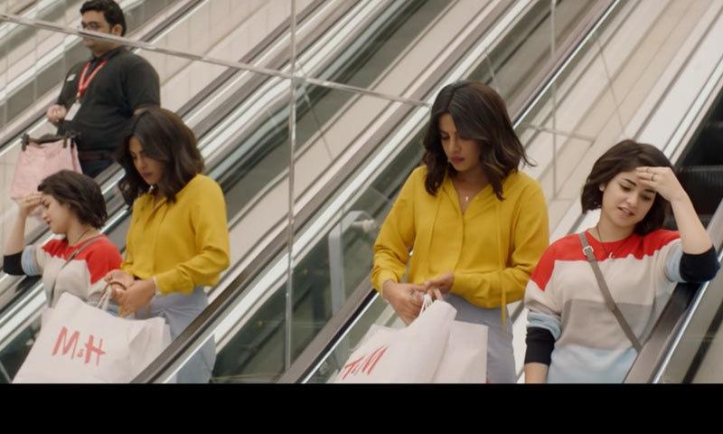 فلم میں پریانکا چوپڑا نے زائرہ وسیم کی والدہ کا کردار ادا کیا — اسکرین شاٹ