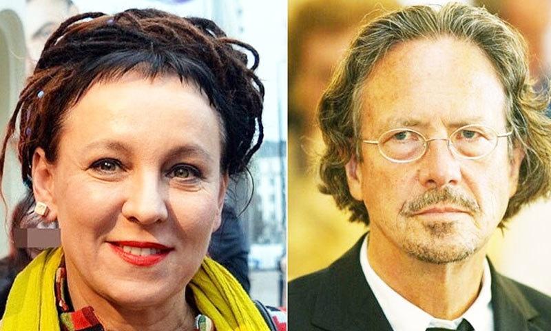 سال 2019 کا انعام آسٹریا کے ناول نگار کو دیا گیا ہے — فوٹو: نوبل پرائز ٹوئٹر