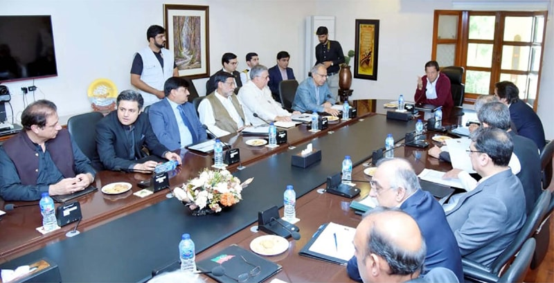 ISLAMABAD: Prime Minister Imran Khan is chairing meeting of his economic team on Thursday.—PPI