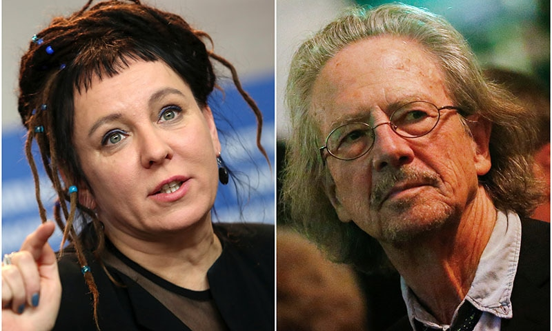 Austrian Handke, Polish Tokarczuk win first Nobel literature prizes after assault scandal