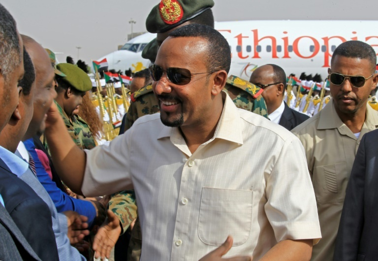 Abiy has sought a role in shaping events across the Horn of Africa. ─ AFP