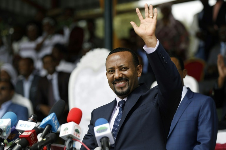 Since taking office in April 2018, Abiy has aggressively pursued policies that have the potential to upend Ethiopian society. ─ AFP