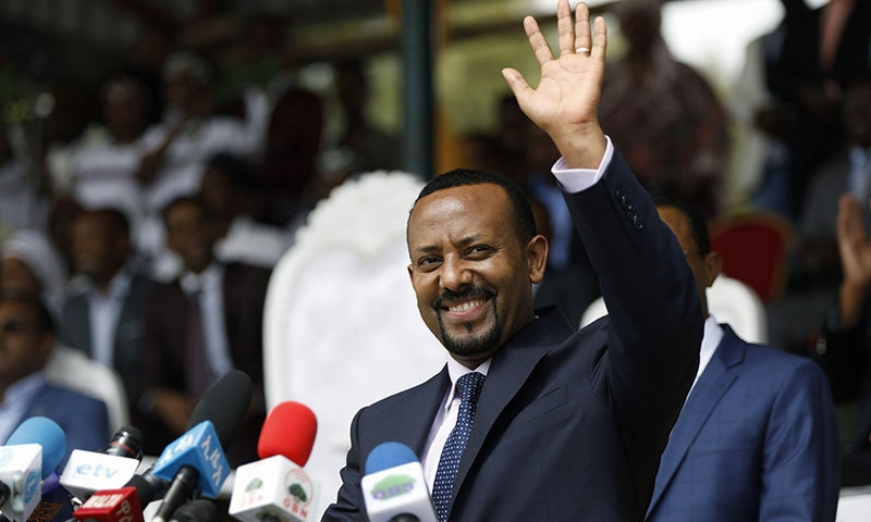 ایتھوپیا کے وزیر اعظم ابی احمد علی— فوٹو: اے ایف پی