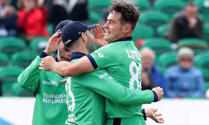 آئرلینڈ نے پاکستان کے خلاف اپنا پہلا ٹیسٹ کھیلا تھا—فائل/فوٹو:اے ایف پی