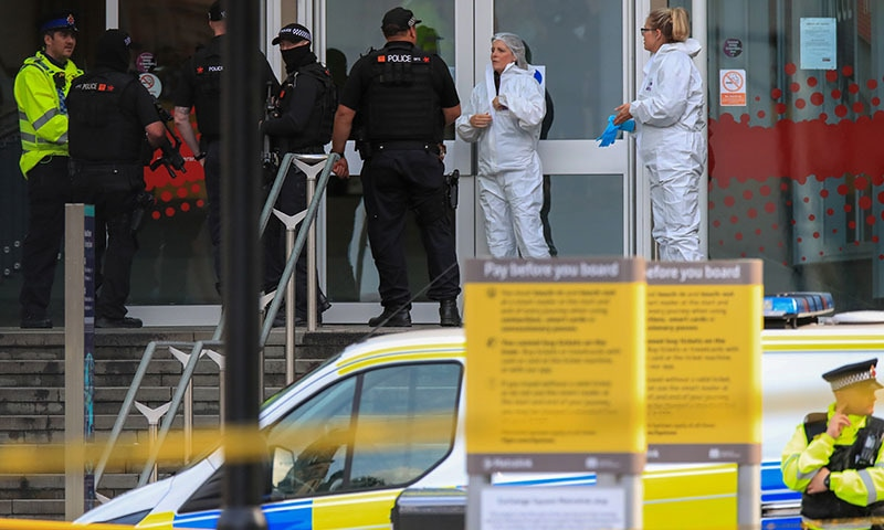 Man goes on stabbing spree at Manchester shopping centre