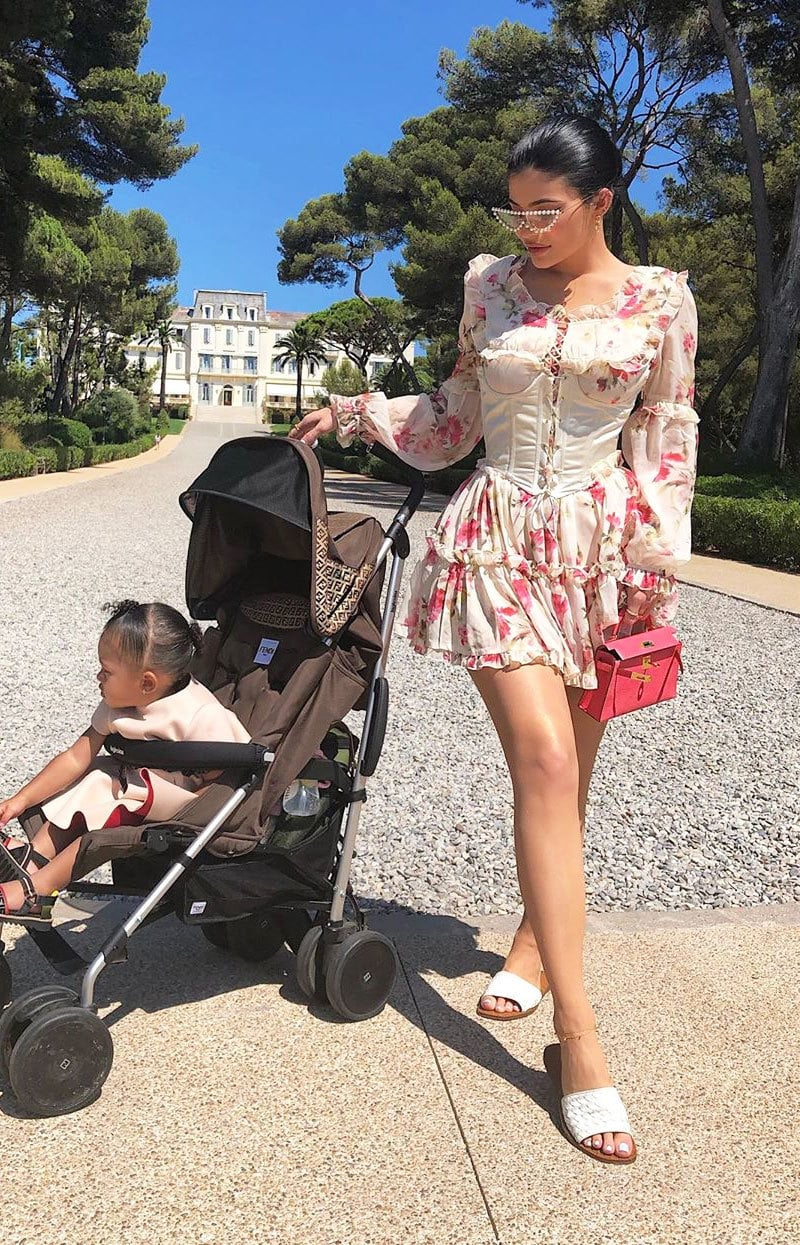 کایلی جینر کے ہاں پہلی بچی فروری 2018 میں ہوئی تھی—فوٹو: انسٹاگرام