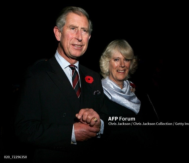 Camilla, Duchess of Cornwall and Prince Charles, Prince of Wales arrive at Islamabad International airport on a week-long tour of the country on October 29, 2006, in Islamabad.