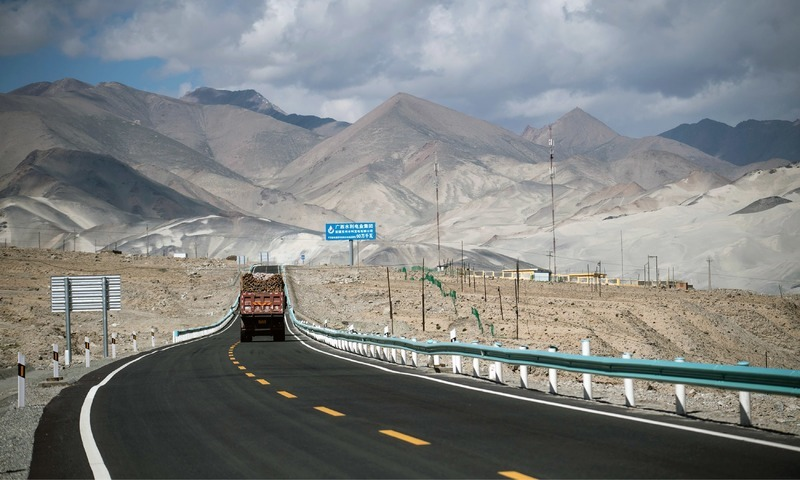 Joint Working Group has signed a memorandum of understanding for transport infrastructure development. — AFP/File