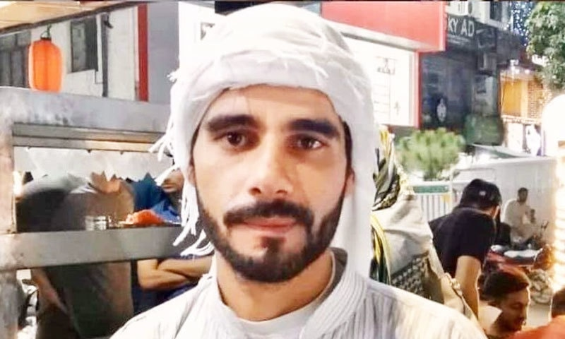 ابو عامر 7 سال قبل پاکستان آئے تھے—فوٹو: ٹوئٹر