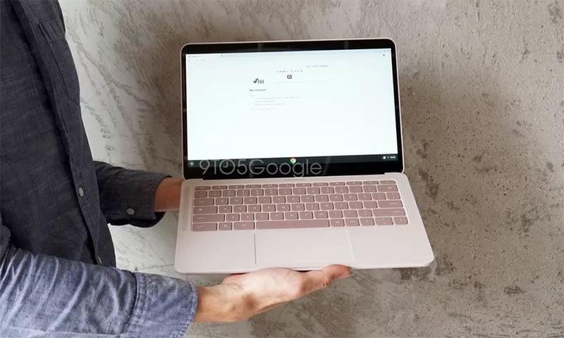 گوگل کا نیا پکسل بک گو لیپ ٹاپ — فوٹو بشکریہ نائن ٹو فائیو گوگل