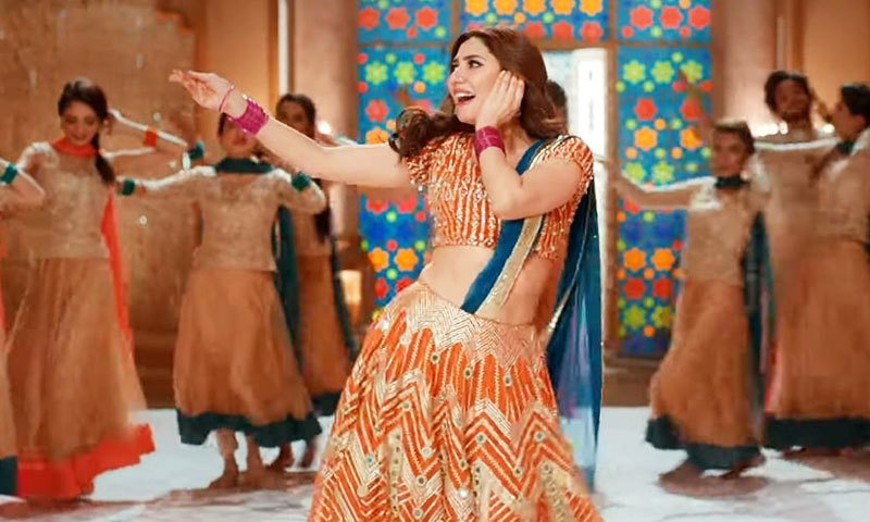 ماہرہ خان نے سپر اسٹار کے گانے نوری پر بولڈ ڈانس کرکے مداحوں کے دل جیتے تھے —اسکرین شاٹ