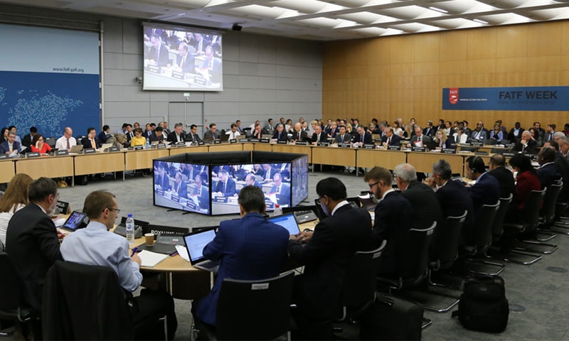 ایف اے ٹی ایف اجلاس پیرس میں 13 اکتوبر سے 16 اکتوبر تک جاری رہے گا — تصویر: فیس بک
