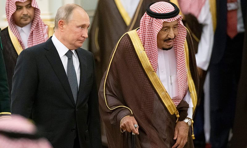 Oil, Iran top agenda as Russia's Putin visits Saudi Arabia