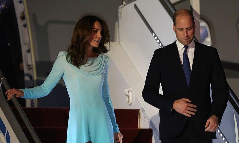 شہزادہ ولیم اور ان کی اہلیہ کیٹ مڈلٹن