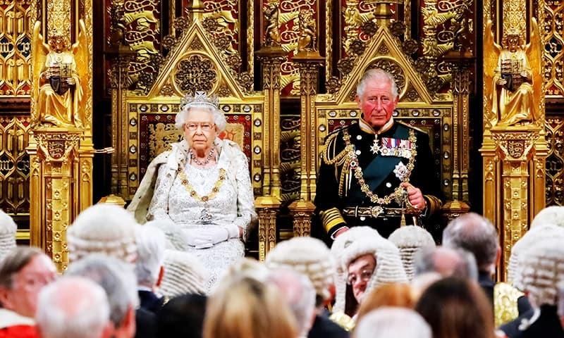 ملکہ ایلزبتھ نے کہا کہ یورپی یونین سے نئی شراکت داری ہوگی—فوٹو:رائٹرز