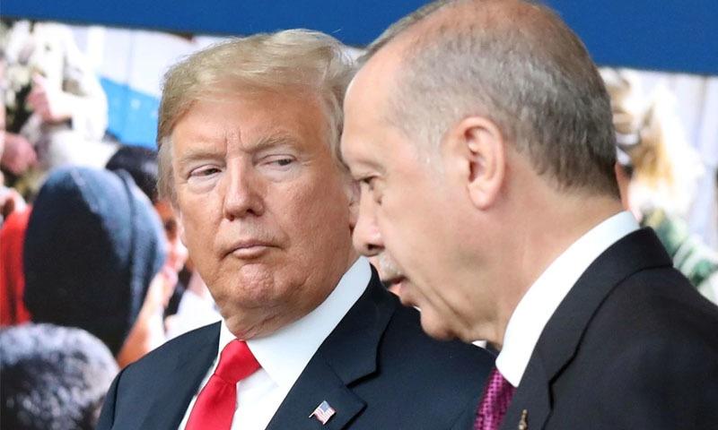 امریکا نے ترکی سے جنگ بندی کا مطالبہ کردیا — فوٹو: اے ایف پی