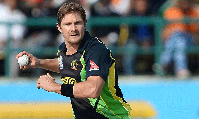 """Australian cricketer Shane Watson has apologised to fans after his social media accounts were flooded with """"illicit"""" photographs of half-naked women and racist comments, seemingly the work of hackers. — AP/File"""