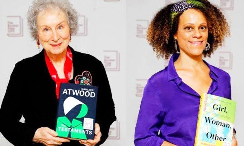 26 سال بعد ایک ساتھ 2 لکھاریوں کو ایوارڈ دیا گیا—فوٹو: رائٹرز