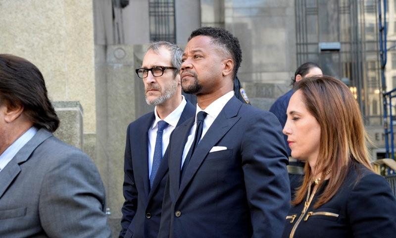 کیوبا گڈنگ جونیئر پر عدالت میں کیس زیر سماعت ہے—فوٹو: رائٹرز