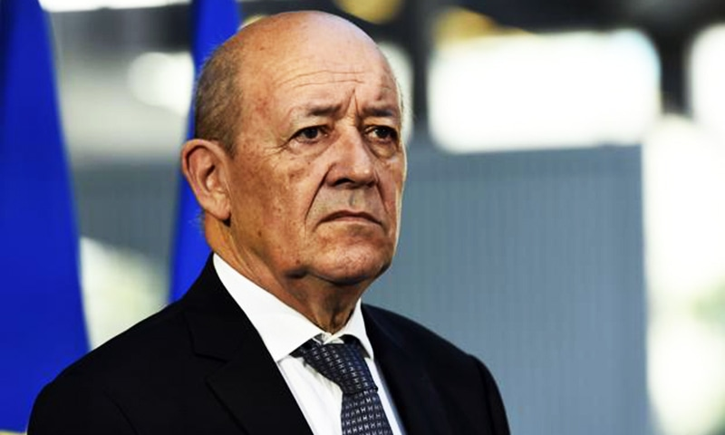 French Foreign Minister Jean Yves Le Drian.— AFP/File