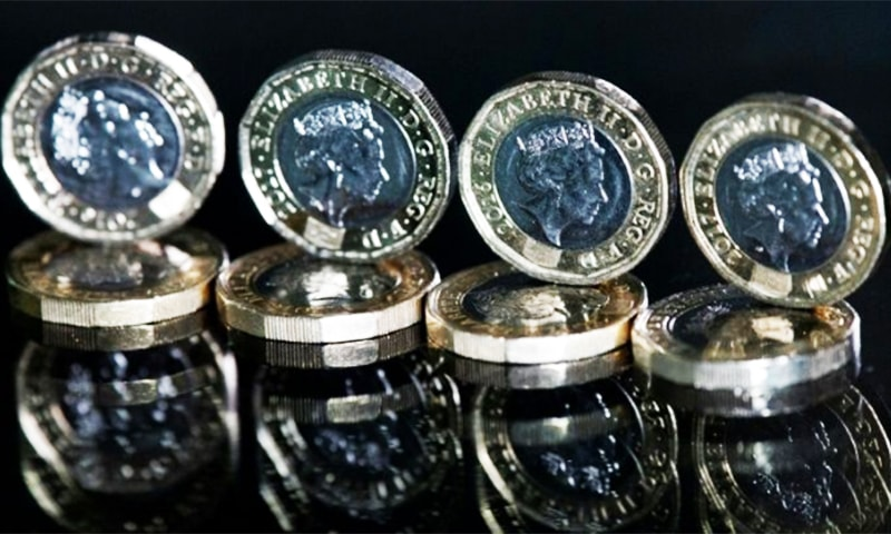 Signs of a breakthrough sent the pound rallying to $1.28 in London. — AFP/File