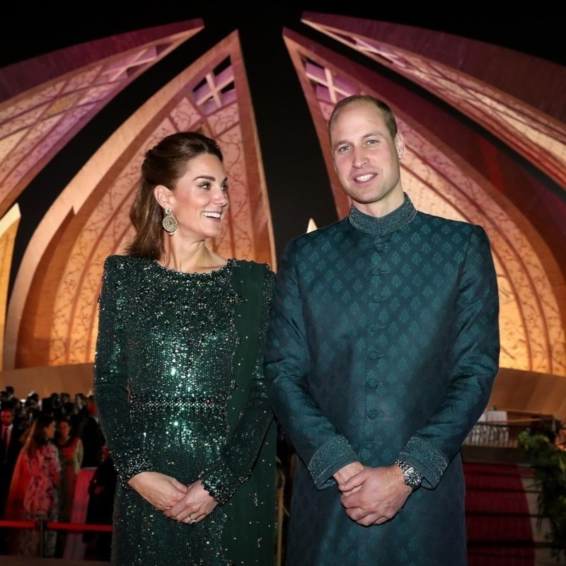 He finally wore a sherwani!