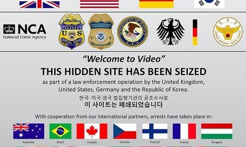 Huge child pornography network busted
