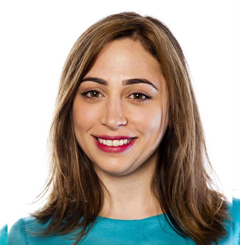 لبنان کی کاروباری خاتون آید بدیر کو بھی شامل کیا گیا ہے—فوٹو: ٹوئٹر