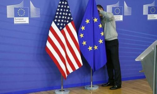 The United States imposed tariffs on a record $7.5-billion worth of European Union goods on Friday, despite threats of retaliation, with Airbus, French wine and Scottish whiskies among the high-profile targets. The United States imposed tariffs on a record $7.5-billion worth of European Union goods on Friday, despite threats of retaliation, with Airbus, French wine and Scottish whiskies among the high-profile targets. — Reuters/File