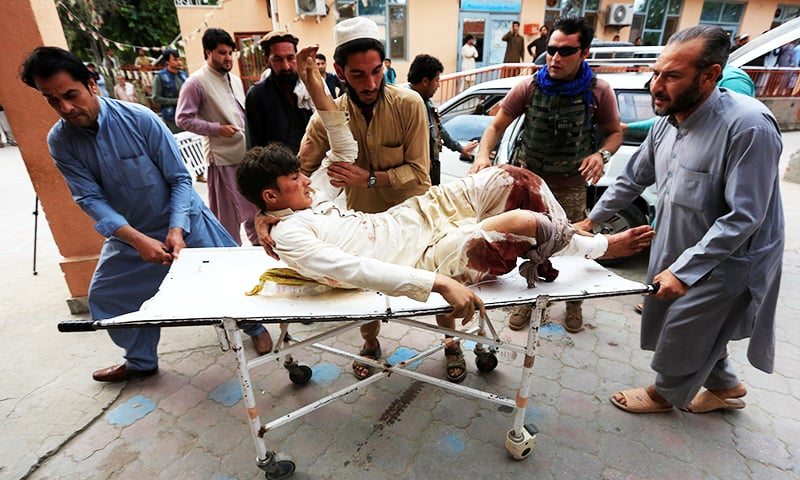 62 killed, 33 wounded in an explosion in Nangarhar province of Afghanistan