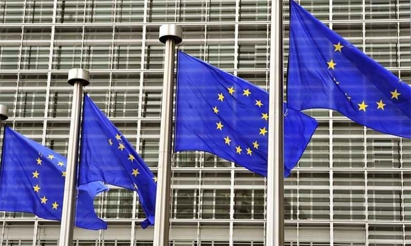 یورپی یونین نے جولائی میں امریکی مصنوعات پر اضافی ٹیرف کی دھمکی دی تھی—فائل/فوٹو:اے پی
