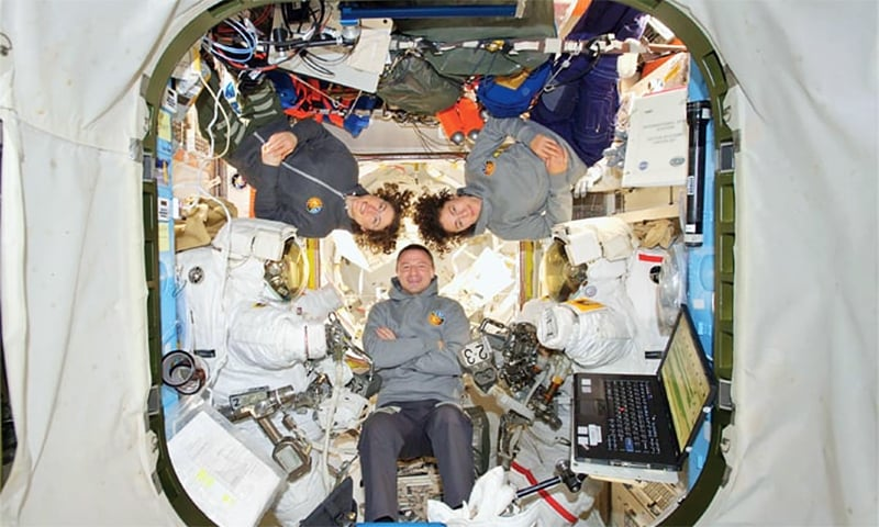 US makes history with first all-female spacewalk team