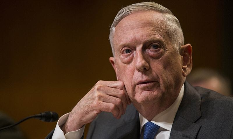 """I'm not just an overrated general. I am the greatest, the world's most overrated,"" says former US defence secretary James Mattis. — AFP/File"