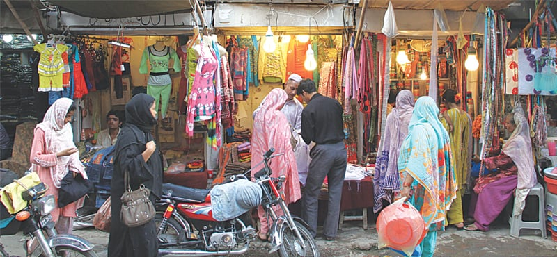 Shops in the walled city of Lahore | M. Arif/ White Star