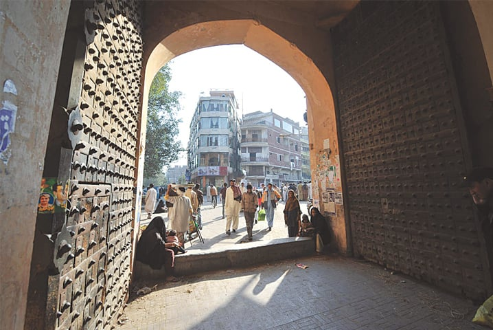 Planners believed conservation of Lahore's walled city would create economic well-being in the area | M. Arif/ White Star