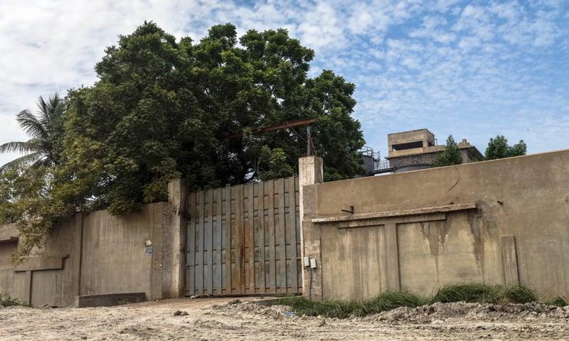 A shuttered factory in SITE area, Karachi