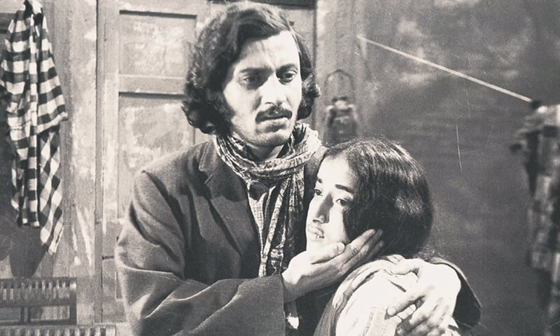 Zafar Masood as Nausha and Tauqir Fatima as Sultana in the 1969 version
