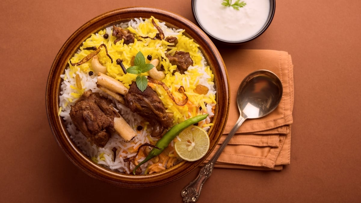 The story of biryani is rich and royal. Here's a glimpse - and a recipe