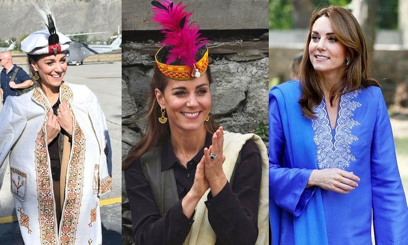 شہزادی ڈیانا نے پاکستانی دورے کے دوران پاکستانی ڈیزائنر کا لباس بھی پہنا—فوٹو: اے ایف پی/ ٹوئٹر