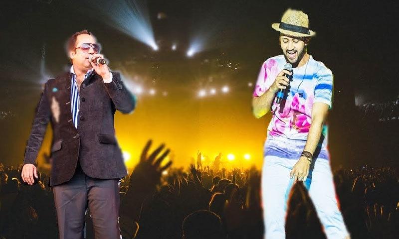 دونوں گلوکار 25 اکتوبر کو پرفارم کریں گے—اسکرین شاٹ/ یوٹیوب